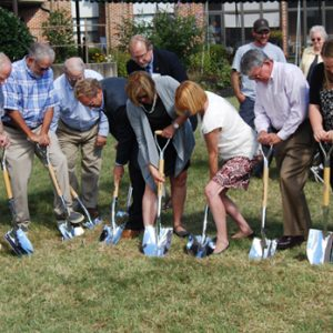 Groundbreaking honoring beginnings of Old Main launches renovation project