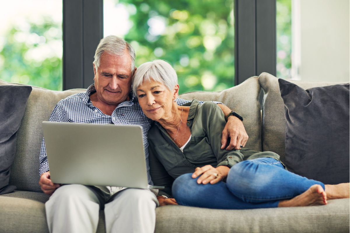 Couple at Computer Resize